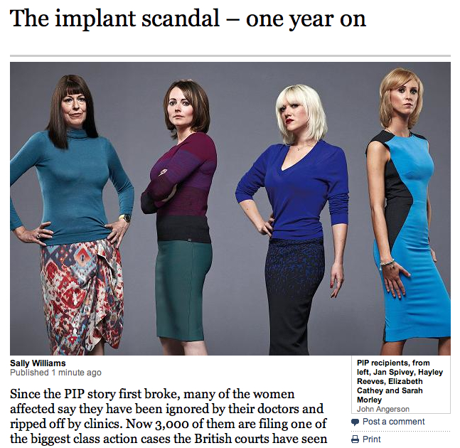 British PIP Scandal : 1 year On